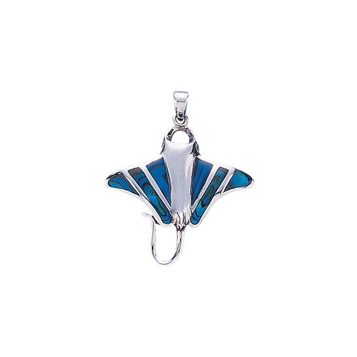Stingray Sterling Silver Pendan TP1078
